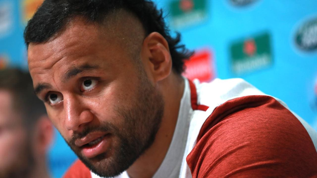 Billy Vunipola is expecting a ferocious battle with the Springboks in the RWC final.
