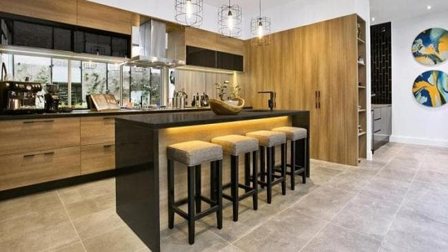 Apartment 2 — The kitchen and its accompanying butler's pantry have proven popular with prospective buyers.