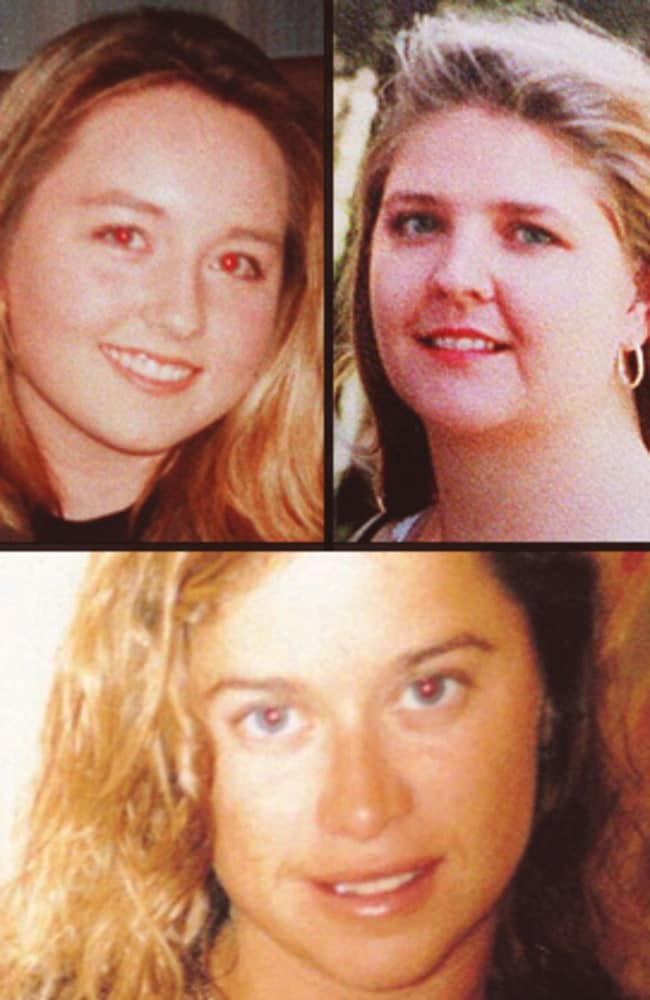 Bradley Robert Edwards is charged with the murders of Sarah Spiers, Jane Rimmer and Ciara Glennon.