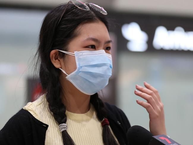Health professionals are unconvinced of the preventive powers of the ubiquitous face mask. Picture: Paul Kane/Getty Images