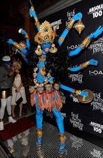 2008: Kali, a hindu goddess.
