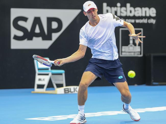 John Millman caused one of the big upsets this year when he beat Roger Federer.