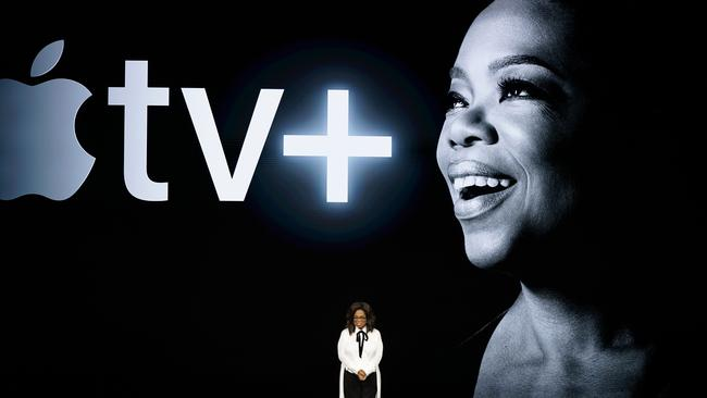 Oprah Winfrey will bring a version of her famed book club to Apple TV+. Picture: AP Photo/Tony Avelar
