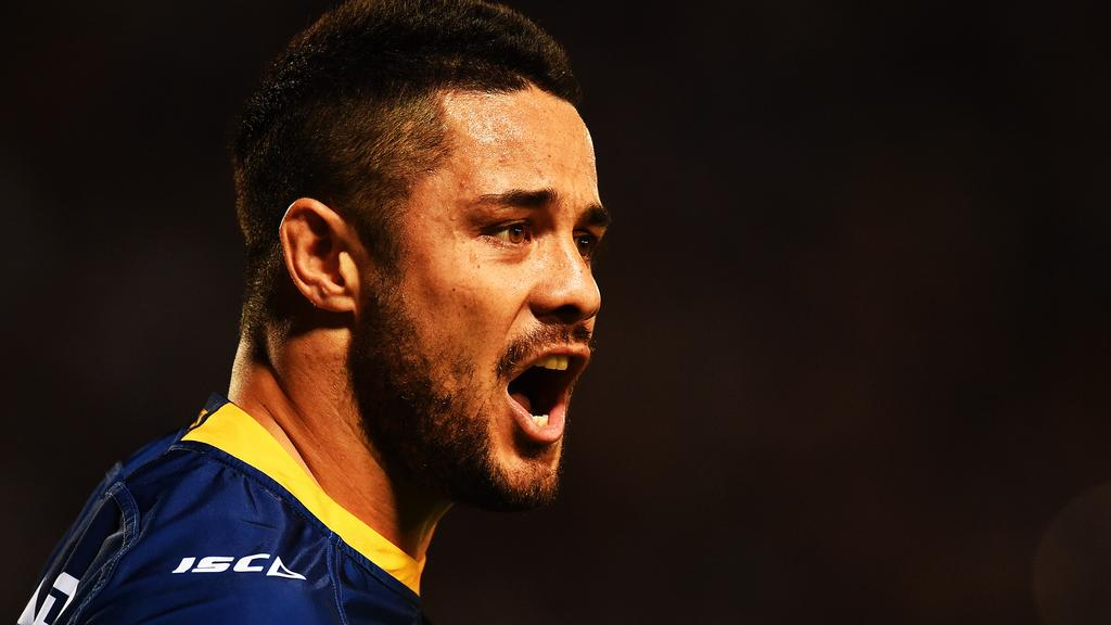 8650541cd Jarryd Hayne is being questioned by police at Ryde police station. Picture   Zak Simmonds