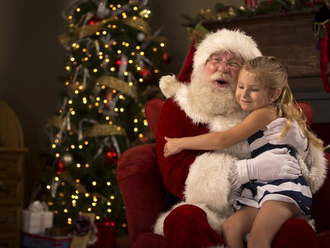 Both Pip and her daughter were devastated when she fessed up about Santa. Picture: iStock
