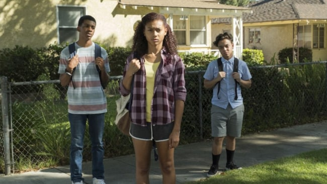 These kids delivered a big hit. Photo: 'On My Block'