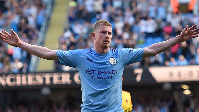 Kevin De Bruyne put the seal on an outstanding performance.