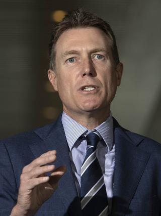 Christian Porter is seeking industrial relations changes. Picture: NCA NewsWire/Gary Ramage,