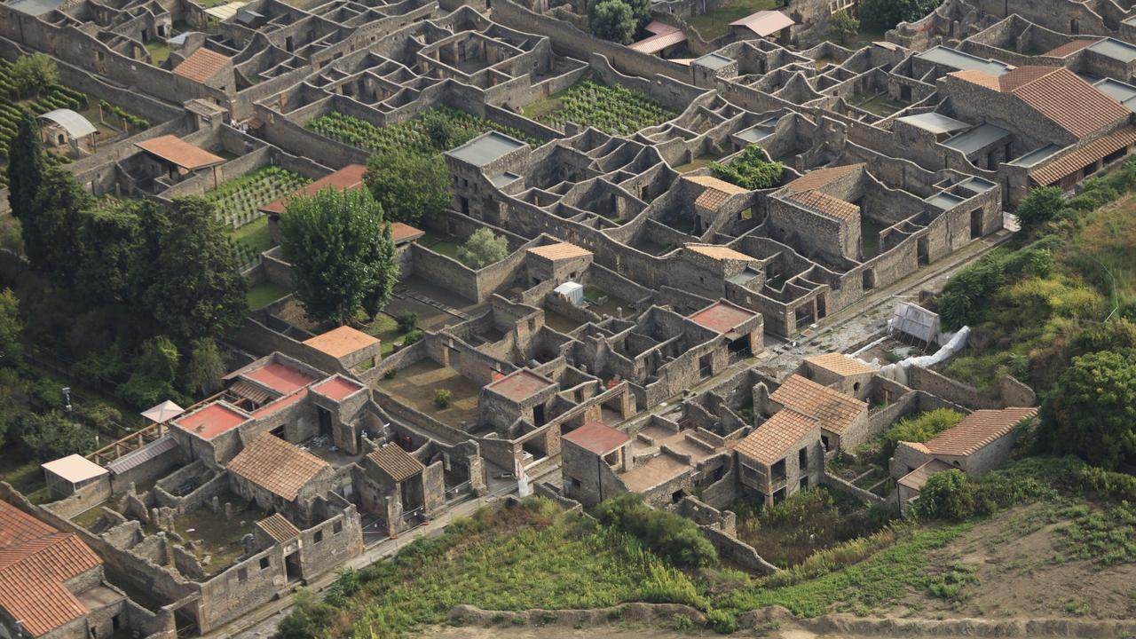 Pompeii, in Southern Italy. Picture: istock
