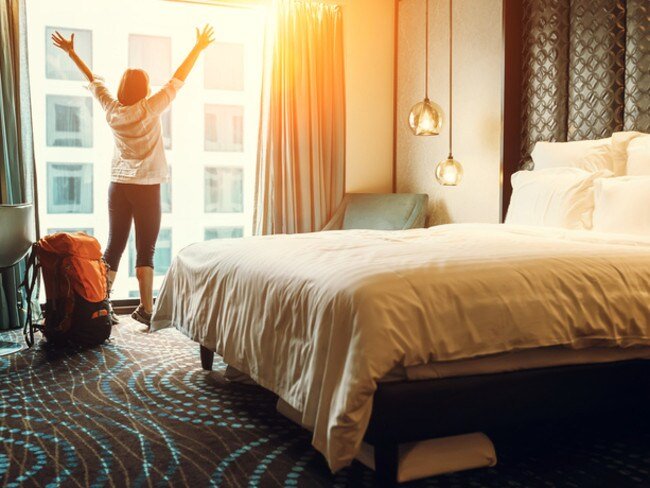 When guests cancel their bookings at the last minute, luxury hotels will drop room prices to fill the rooms.