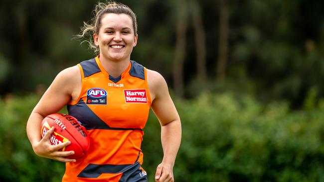 Alyce Parker was not able to play AFL until she 12 because there were no girls teams near her home.