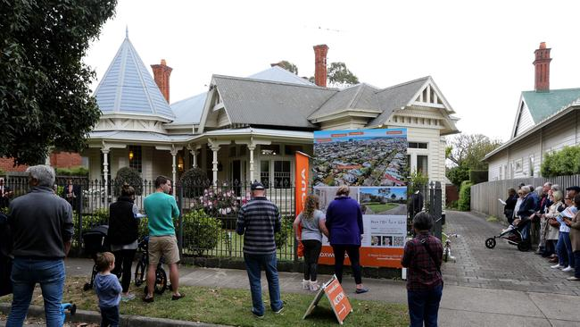 32 Laurel Bank Parade, Newtown, sold for $1.92million in October, one of more than 60 $1million-plus sales in the suburb last year. Picture: Mike Dugdale