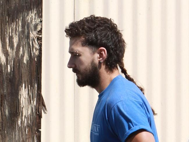Rat Tail Hair Style: Shia LaBeouf's Rat's Tail: Photos, Pictures