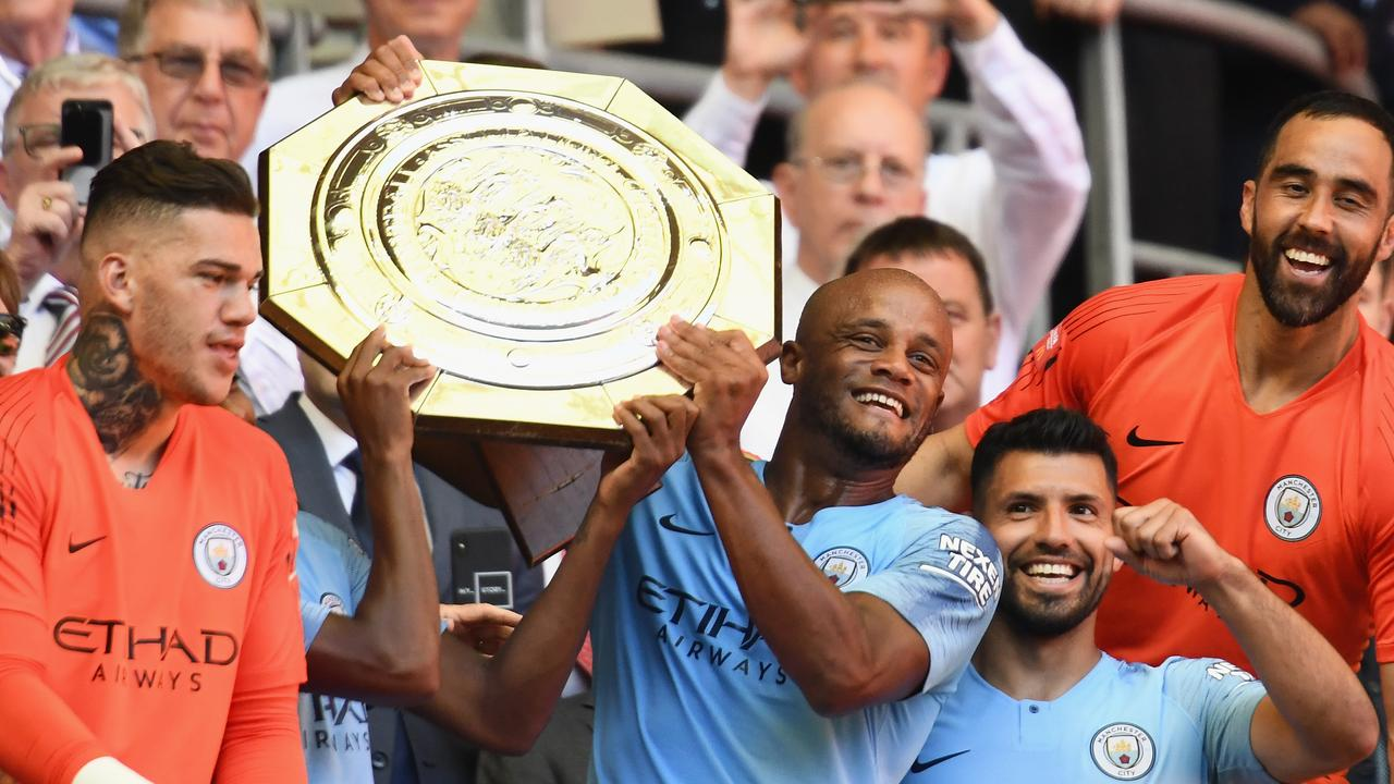 Manchester City are favourites to retain the title.