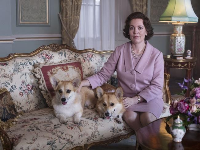 Olivia Colman was nominated for her performance as the Quuen in The Crown. Picture: Netflix