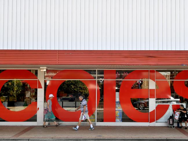Coles seems to be doing fine — so far. Picture: AP Image/Joel Carrett