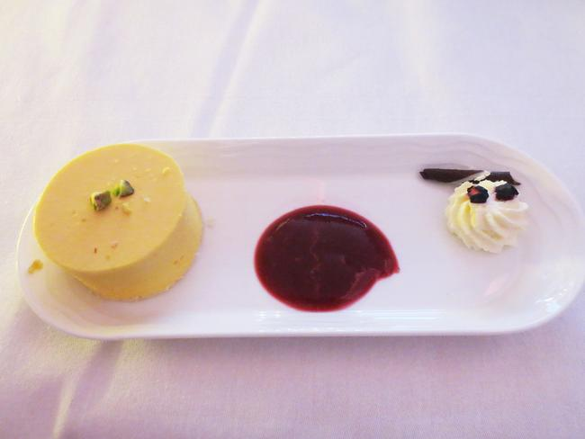 A mango-flavoured desert offering. Picture: Kate Schneider