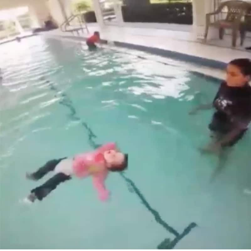Footage of babies tossed into deep water left to recover 2