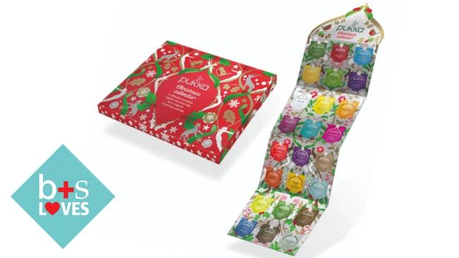 Pukka Herbal Tea Advent Calendar ($22.95 at Pukka)