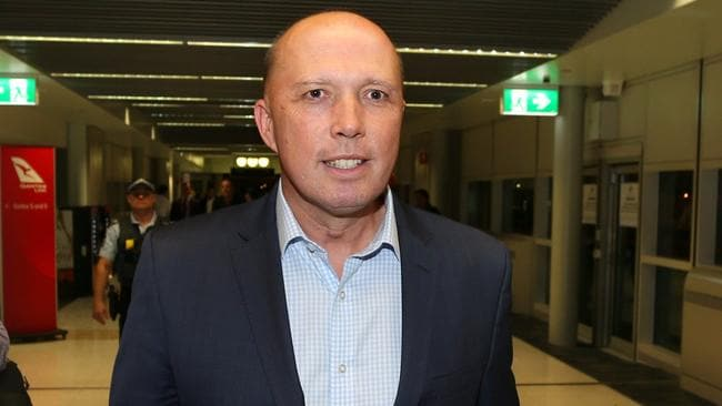 Peter Dutton denies he breached ministerial standards. Picture: Richard Waugh/AAP