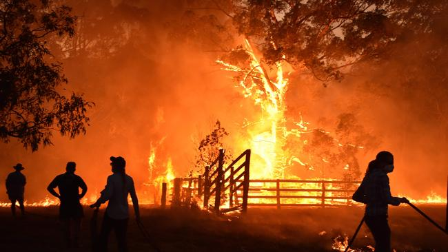 A state of emergency was declared in New South Wales on Monday. Picture: Peter Parks/AFP