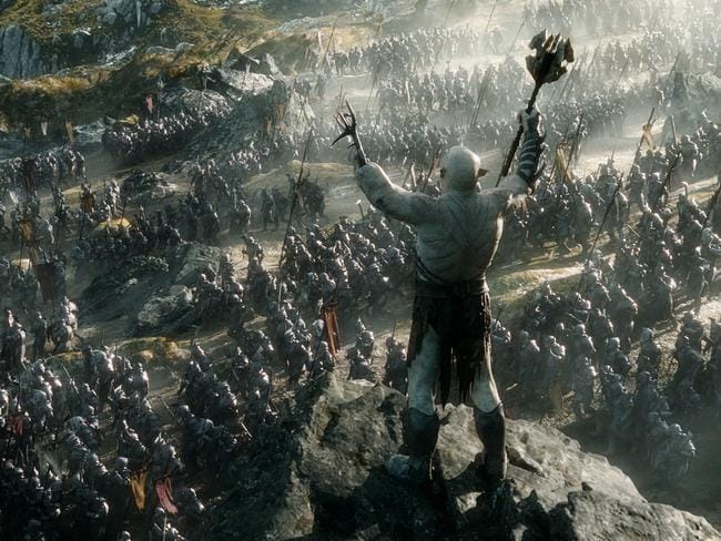 The battle scene was visually dynamic. Picture: Roadshow/Warner Bros