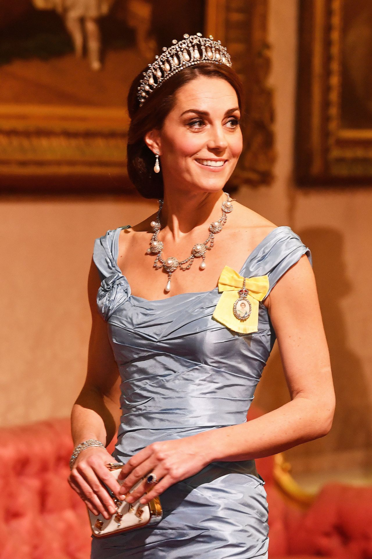 The history behind Kate Middleton's state banquet jewels