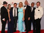 The Better Homes and Gardens team on the red carpet at the 57th Logie Awards at Crown Casino in Melbourne. Picture: Tim Carrafa