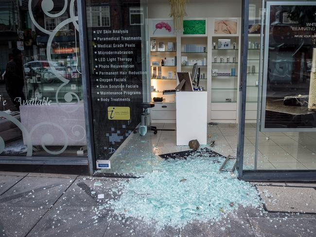 Toorak Lavish Skin Clinic Robbed In Daylight Smash And