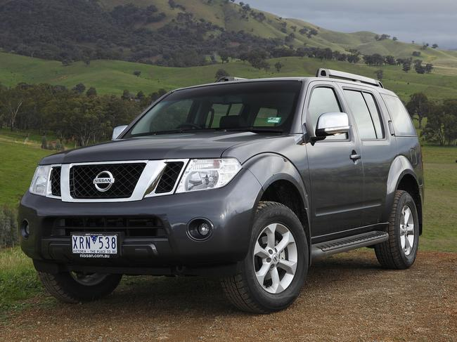 Nissan Pathfinder SUVs from 2017 to 2019 are implicated in the recall (pictured is 2011 model).