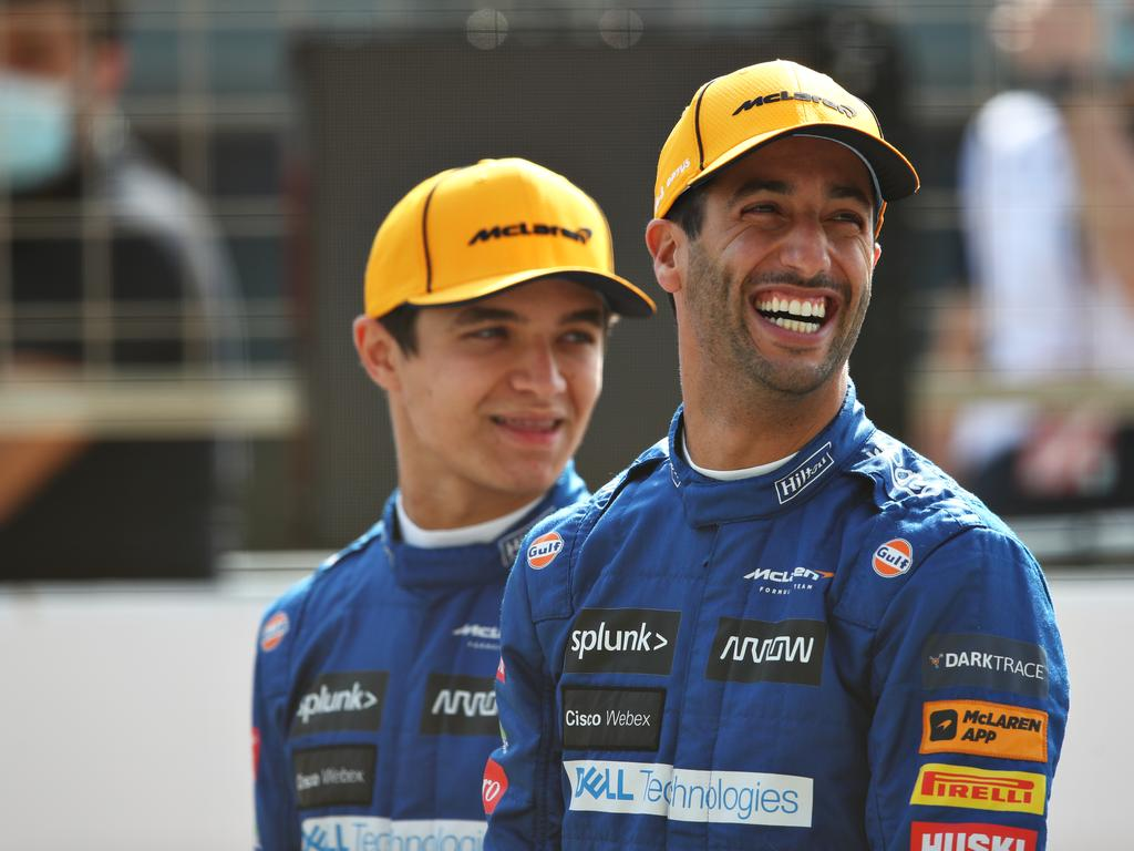 It's a major warning for the grid if Ricciardo can get up to speed like Norris.