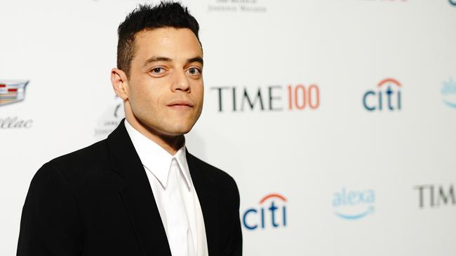 Malek will play a baddie in the next James Bond film. Picture: Jemal Countess/Getty Images for TIME