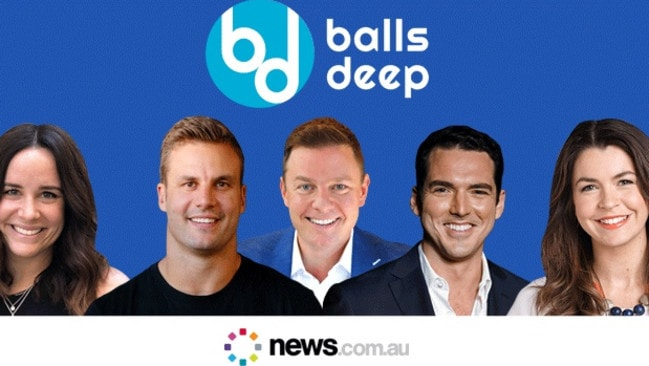 From parenting, to marriage and balance, News.com.au's Balls Deep podcast questions men on all the topics women often get asked about.