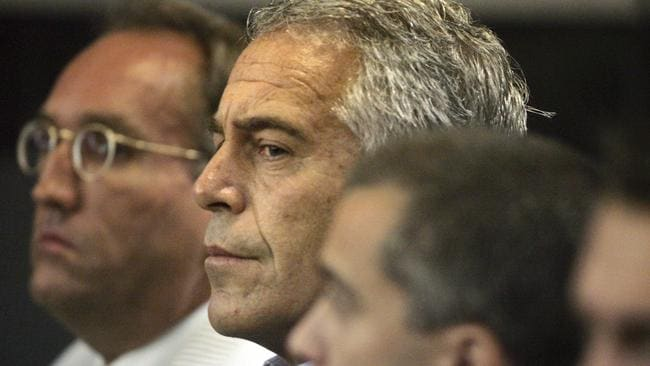 Jeffrey Epstein died earlier this month. Picture: Uma Sanghvi/Palm Beach Post/AP