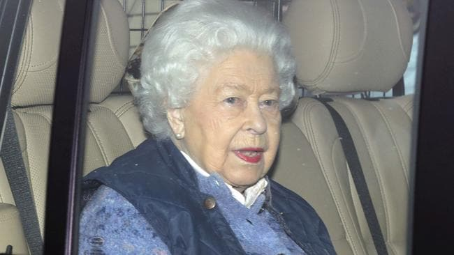 The Queen has headed to her Berkshire home early for the Easter period. Picture: PA via AP.