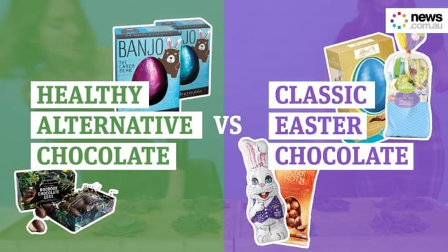 Taste test: Classic Easter chocolate vs healthy chocolate alternatives