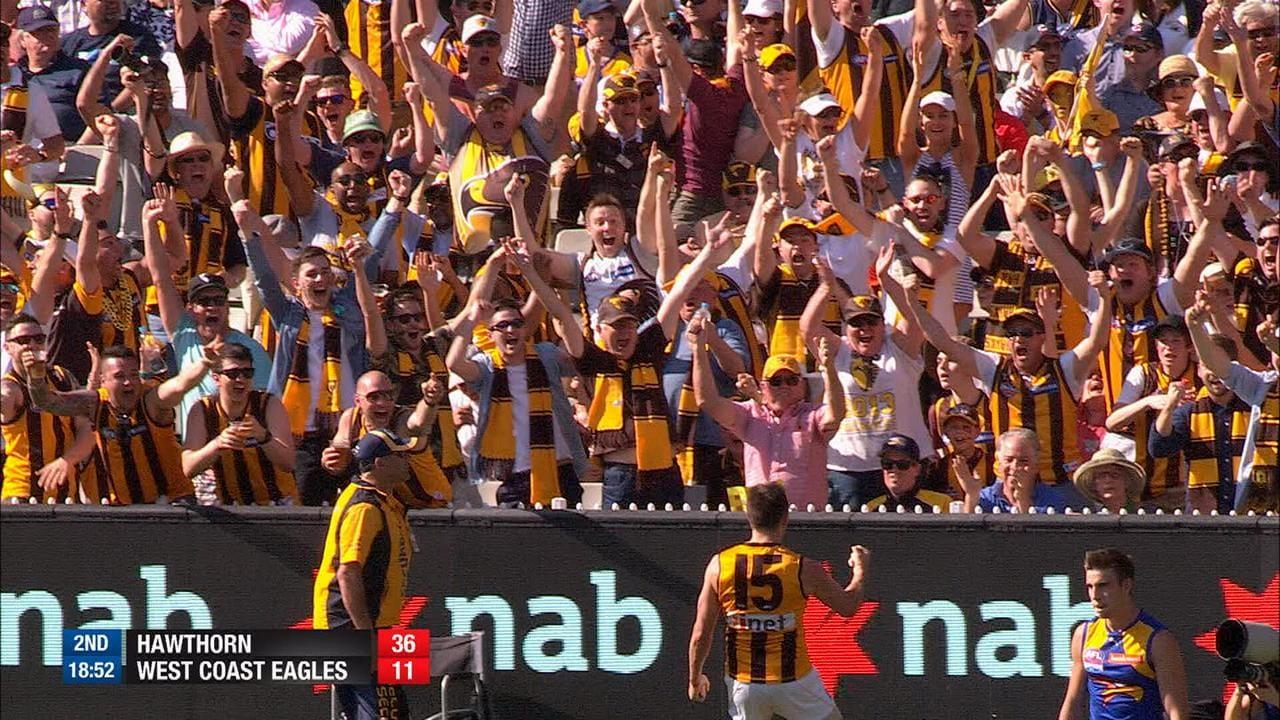 Luke Hodge's goal in the 2015 Grand Final kicks off our AFL Finals Flashbacks!
