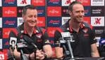 John Worsfold and Ben Rutten are involved in Essendon's succession plan.