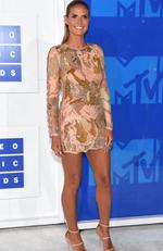 Heidi Klum attends the 2016 MTV Video Music Awards at Madison Square Garden on August 28, 2016 in New York City. Picture: Jamie McCarthy/Getty Images