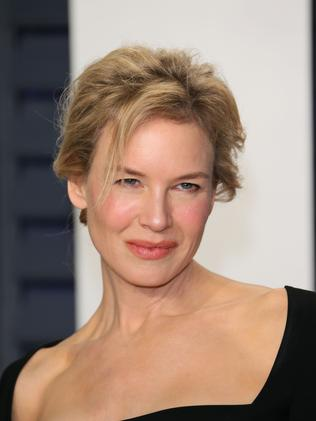 An understated Renée Zellweger goes for the natural look. Picture: AP