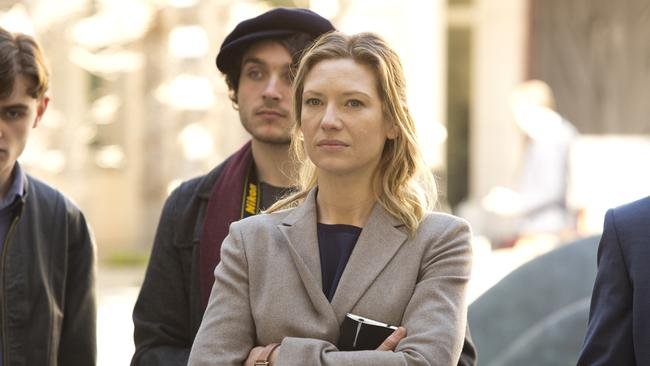 Secret City, starring Anna Torv, will be screened worldwide on Netflix under the new deal. Picture: Foxtel