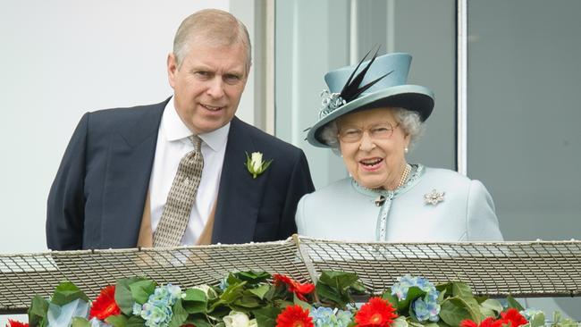 Buckingham Palace has not commented on Prince Andrew's friendship with Jeffrey Epstein. Picture: AFP.