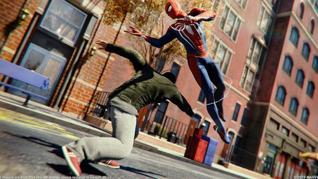 Review for Spider-Man on PS4. It's good.