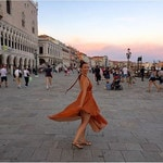 """""""Venice was everything I ever dreamed it would be! BELLISSIMO"""" Picture: Ricki-Lee Coulter/Instagram"""