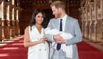 Prince Harry and Meghan Markle with baby Archie. Source: Getty Images