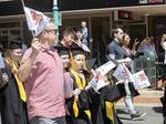 UTAS Graduation at Burnie. PICTURE CHRIS KIDD