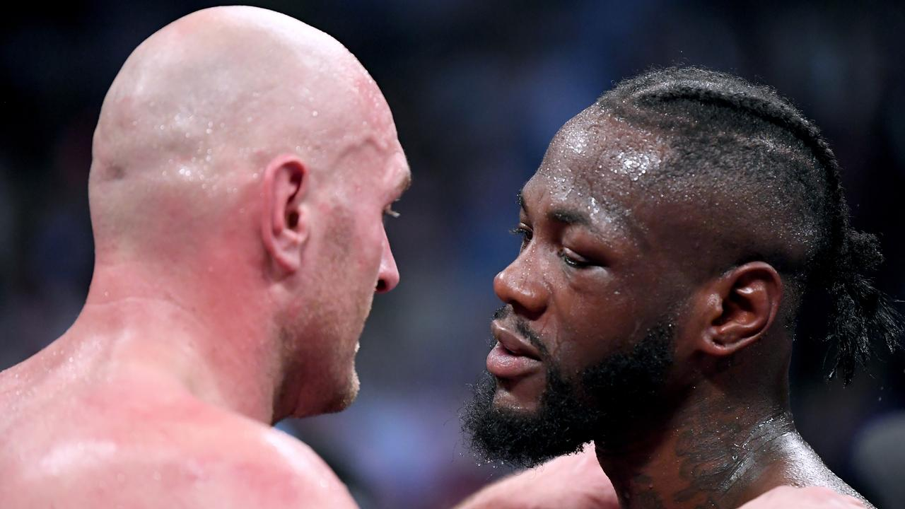 WBC order Tyson Fury v Deontay Wilder rematch.