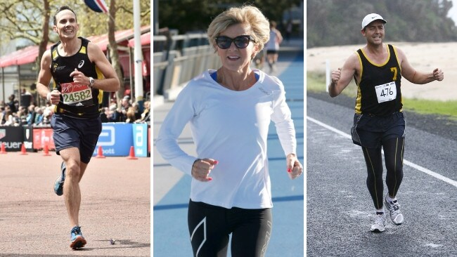 Andrew Leigh, Julie Bishop and Darren Chester say running helps them prepare for a day of battle in parliament.