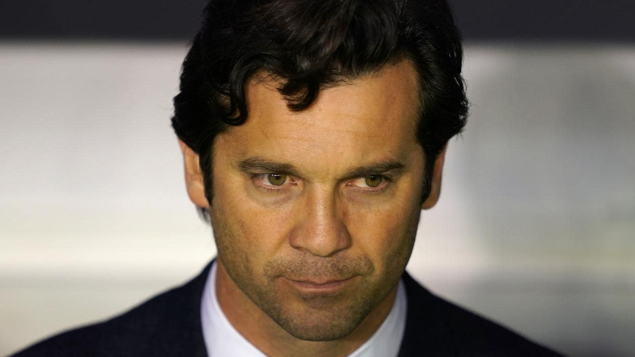 Real Madrid's Argentinian coach Santiago Solari has been sacked