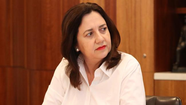 Queensland Premier Annastacia Palaszczuk is the latest to make border changes following the growing South Australia outbreak. Picture: Liam Kidston.